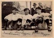 1936 R311 Premiums #L12 Joe DiMaggio/Frank Crosetti/Tony Lazzeri