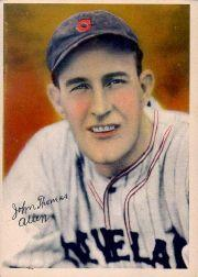 1936 R312 Pastel Photos #1 Johnny Allen