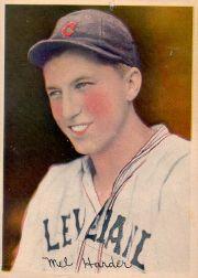 1936 R312 Pastel Photos #13 Mel Harder