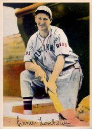 1936 R312 Pastel Photos #15 Ernie Lombardi