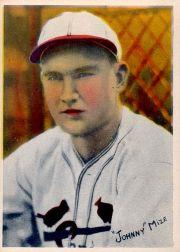 1936 R312 Pastel Photos #17 Johnny Mize