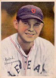 1936 R312 Pastel Photos #25 Ralph Winegarner