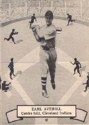 1937 O-Pee-Chee Batter Ups V300 #103 Earl Averill