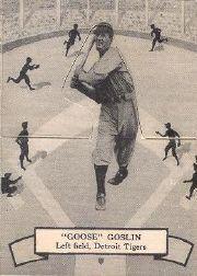 1937 O-Pee-Chee Batter Ups V300 #111 Goose Goslin
