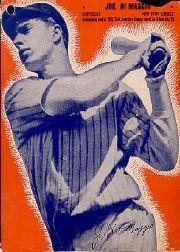 1937 Wheaties BB8 #3 Joe DiMaggio/(batting)
