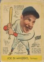 1938 Goudey Heads-Up #274 Joe DiMaggio XRC
