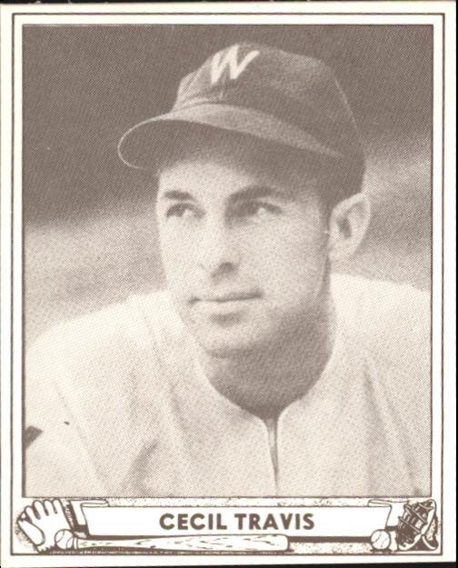 1940 Play Ball #16 Cecil Travis