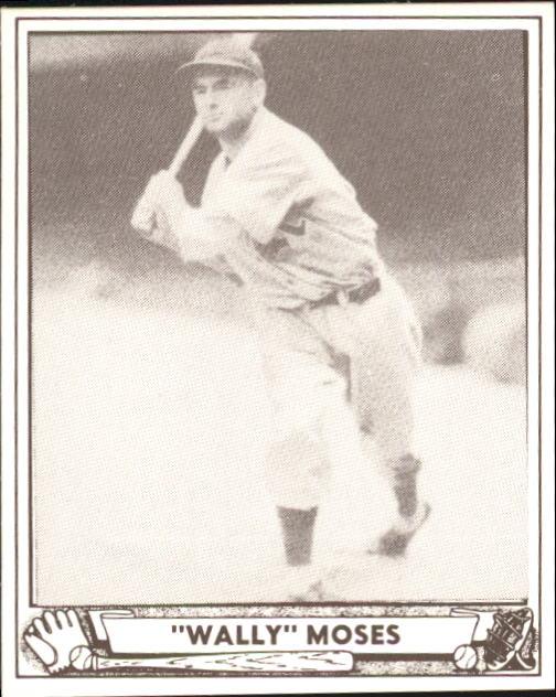 1940 Play Ball #26 Wally Moses