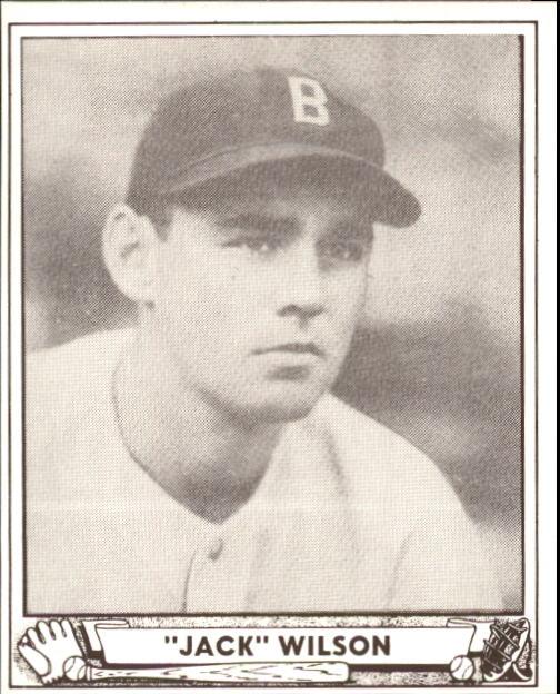 1940 Play Ball #31 Jack Wilson