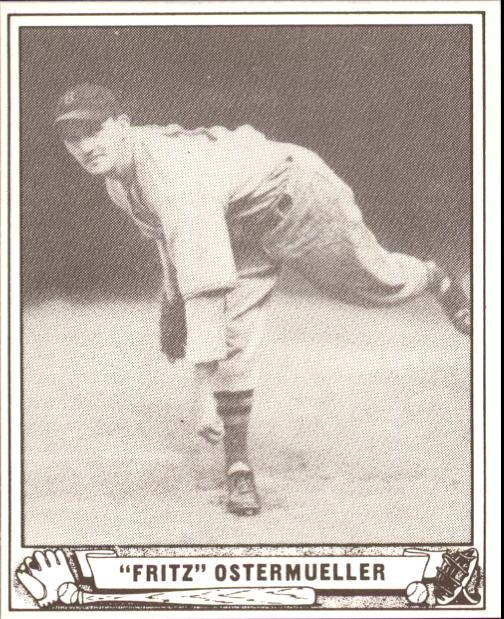1940 Play Ball #33 Fritz Ostermueller