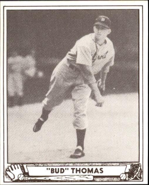 1940 Play Ball #42 Bud Thomas