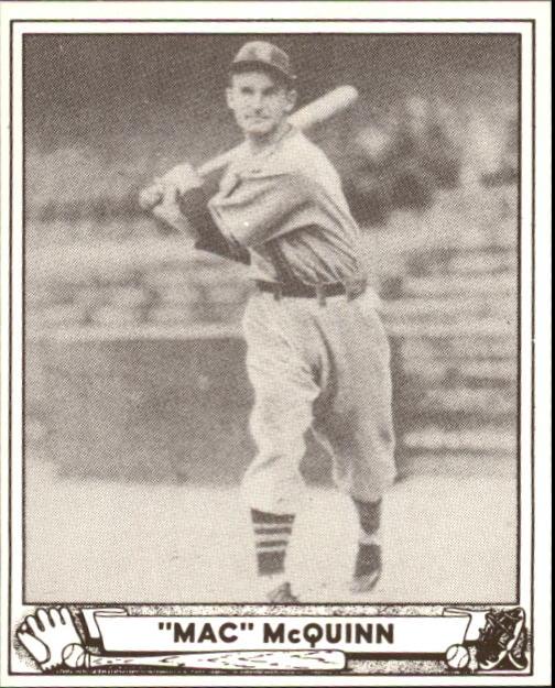 1940 Play Ball #53 George McQuinn