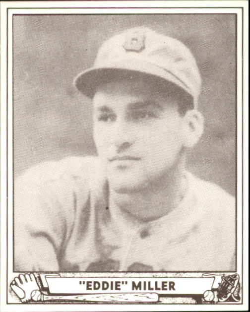 1940 Play Ball #56 Eddie Miller RC