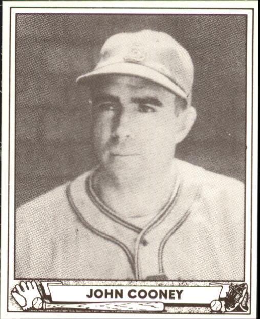 1940 Play Ball #60 John Cooney