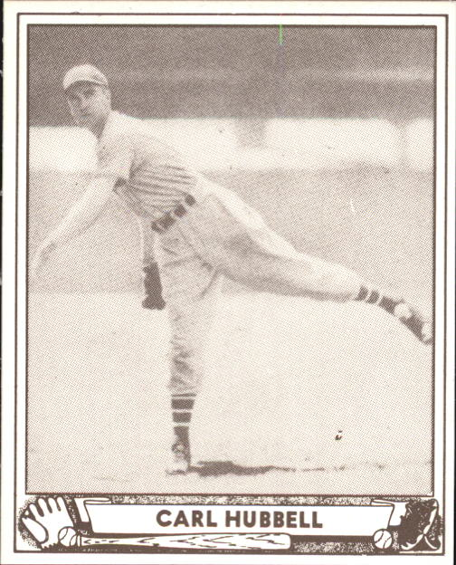 1940 Play Ball #87 Carl Hubbell