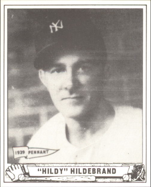 1940 Play Ball #123 Hildy Hildebrand