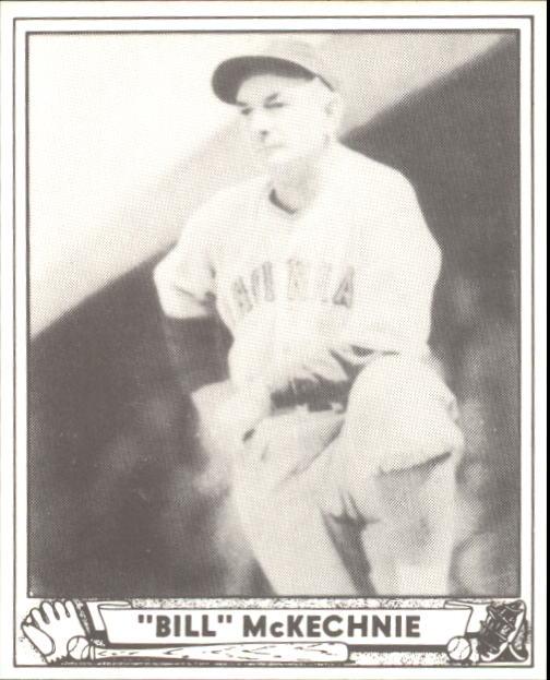 1940 Play Ball #153 Bill McKechnie MG RC