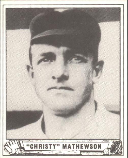 1940 Play Ball #175 Christy Mathewson