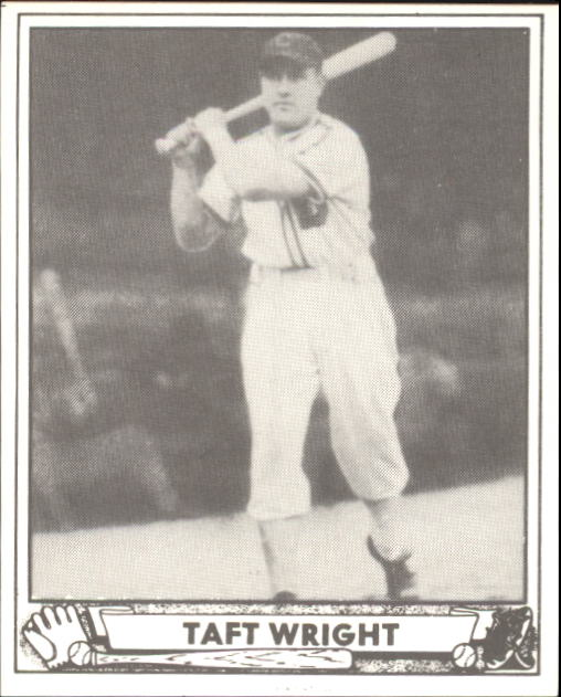 1940 Play Ball #186 Taft Wright RC