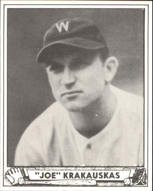 1940 Play Ball #188 Joe Krakauskas RC