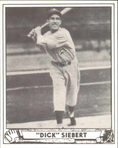 1940 Play Ball #192 Dick Siebert RC