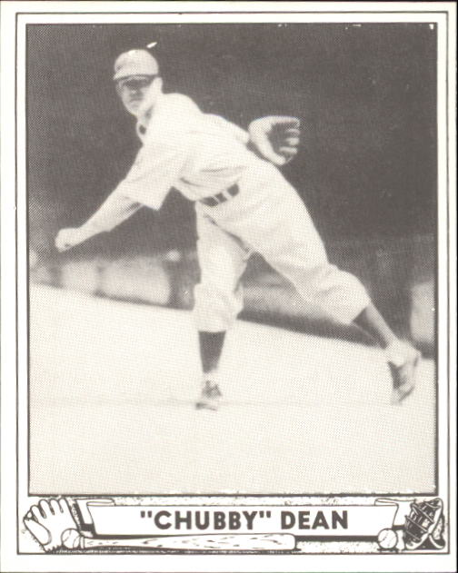 1940 Play Ball #193 Chubby Dean RC