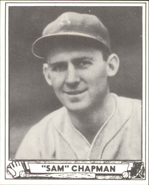 1940 Play Ball #194 Sam Chapman RC