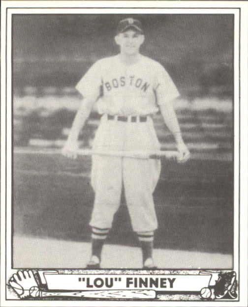 1940 Play Ball #197 Lou Finney RC