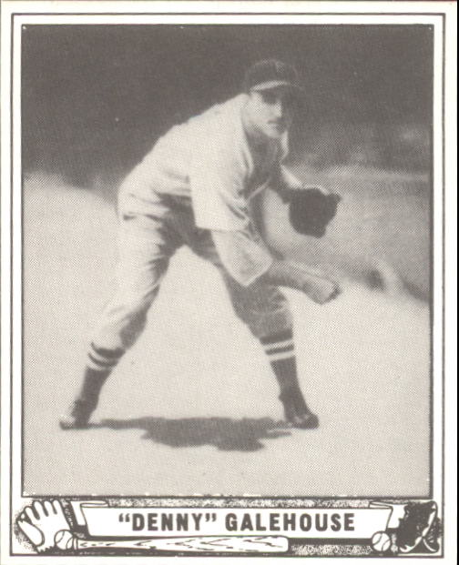1940 Play Ball #198 Denny Galehouse RC