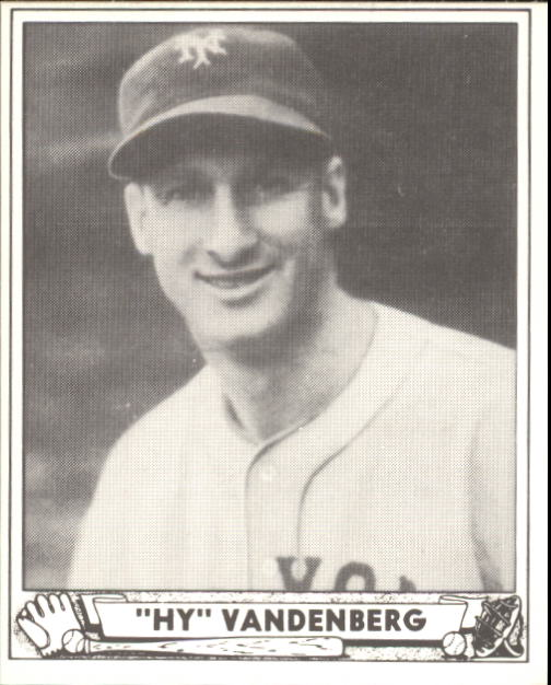 1940 Play Ball #209 Hy Vandenberg RC