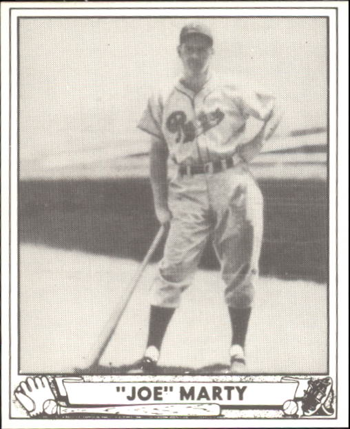 1940 Play Ball #216 Joe Marty RC