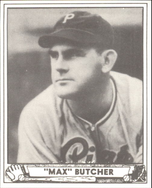 1940 Play Ball #222 Max Butcher RC