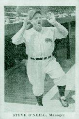 1940 Buffalo Bisons Team Issue #2 Steve O'Neill MG