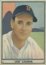 1941 Play Ball #15 Joe Cronin