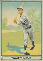 1941 Play Ball #42 Wally Moses