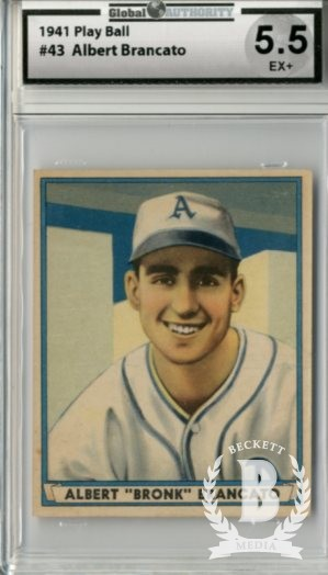 1941 Play Ball #43 Al Brancato RC