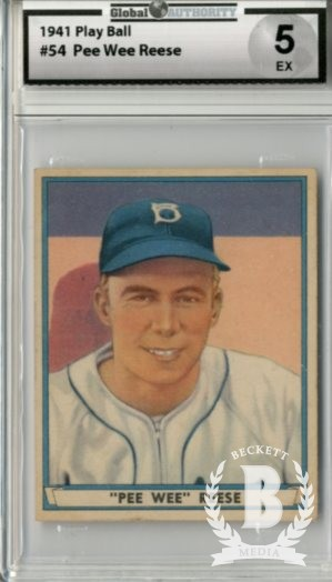 1941 Play Ball #54 Pee Wee Reese RC