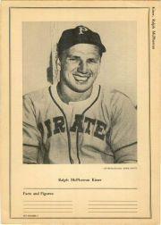 1946-49 Sports Exchange W603 #6-7 Ralph Kiner