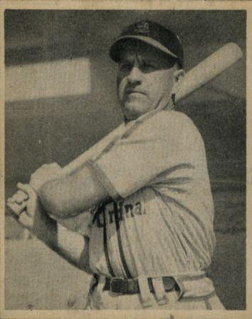1948 Bowman #17 Enos Slaughter RC