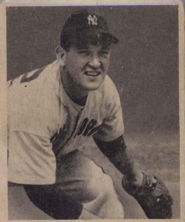 1948 Bowman #21 Ferris Fain RC