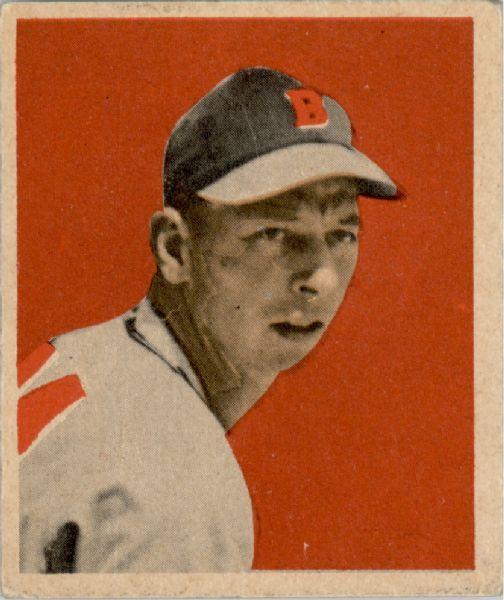 1949 Bowman #1 Vern Bickford RC
