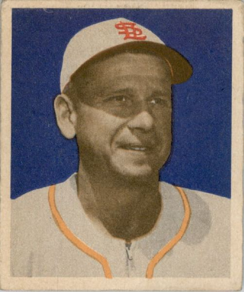 1949 Bowman #4A Jerry Priddy NNOF RC(no player name on front)