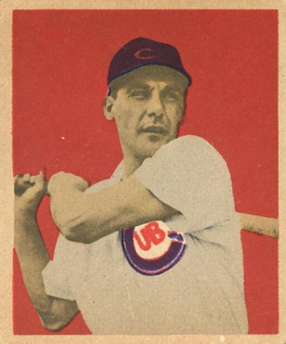 1949 Bowman #6 Phil Cavarretta RC