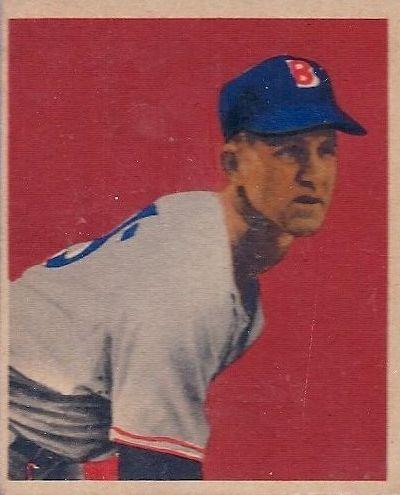 1949 Bowman #7 Joe Dobson RC