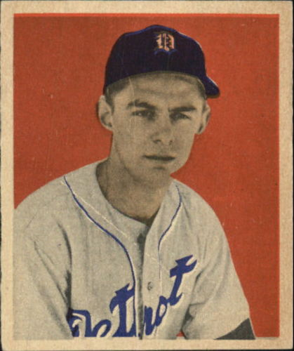 1949 Bowman #10 Ted Gray RC