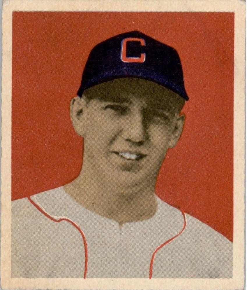 1949 Bowman #12 Cass Michaels RC