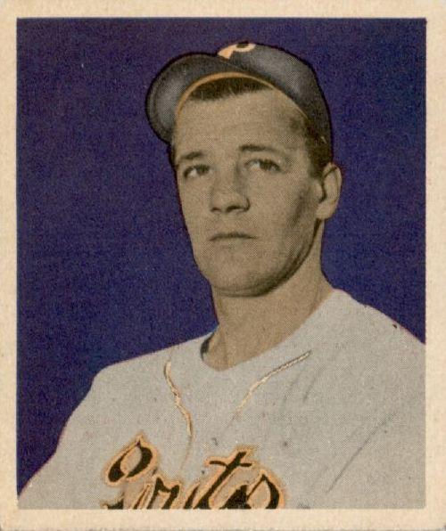 1949 Bowman #13 Bob Chesnes RC