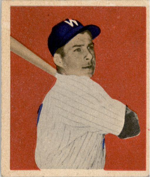 1949 Bowman #16 Al Kozar RC
