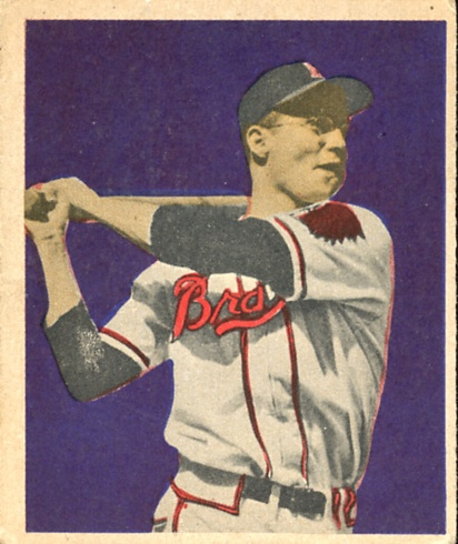 1949 Bowman #17 Earl Torgeson RC