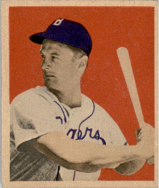 1949 Bowman #20 Gene Hermanski RC